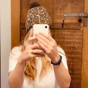 Free People Leopard Hat